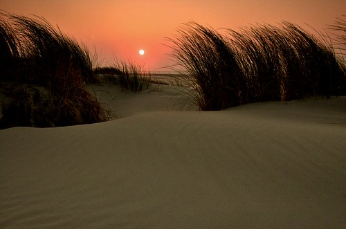 Sunset at Terschelling