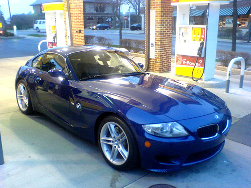 Bmw Z4 M Coupe �08. The Z4 Coupe