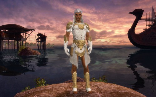 Yellow Paragon Elonian Armour