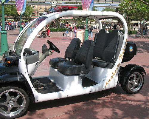 disneyland police anaheim electriccar nev neighborhoodelectricvehicle