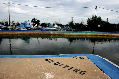 YMCA Pool, Post-Katrina