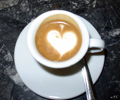 Un Vero Espress...ione D'Amore (wtl photography) Tags: italy food love coffee cafe italian heart romance espresso coolest eyeofthebeholder wtl flickrchallengegroup