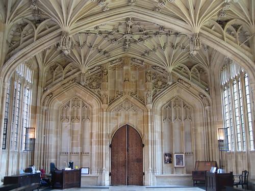 Divinity School Oxford Doorways Inel