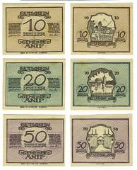Notgeld anif 10 20 50 heller (shordzi) Tags: old sterreich austria exonumia emergency currency autriche austrian notgeld banknotes anif notaphily sterreichisches tokenmoney monnaiedencessit paranumismatica