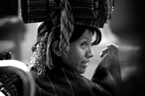 Modern Mayan woman