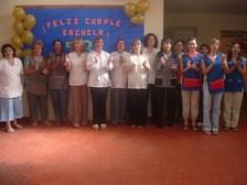 Cuerpo de Docentes Nivel Primario, Pre-escolar y Personal del Limpieza y de Cocina.