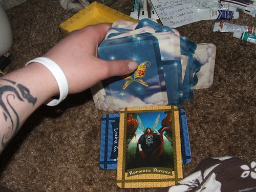 I don't know how to read my cards. :p