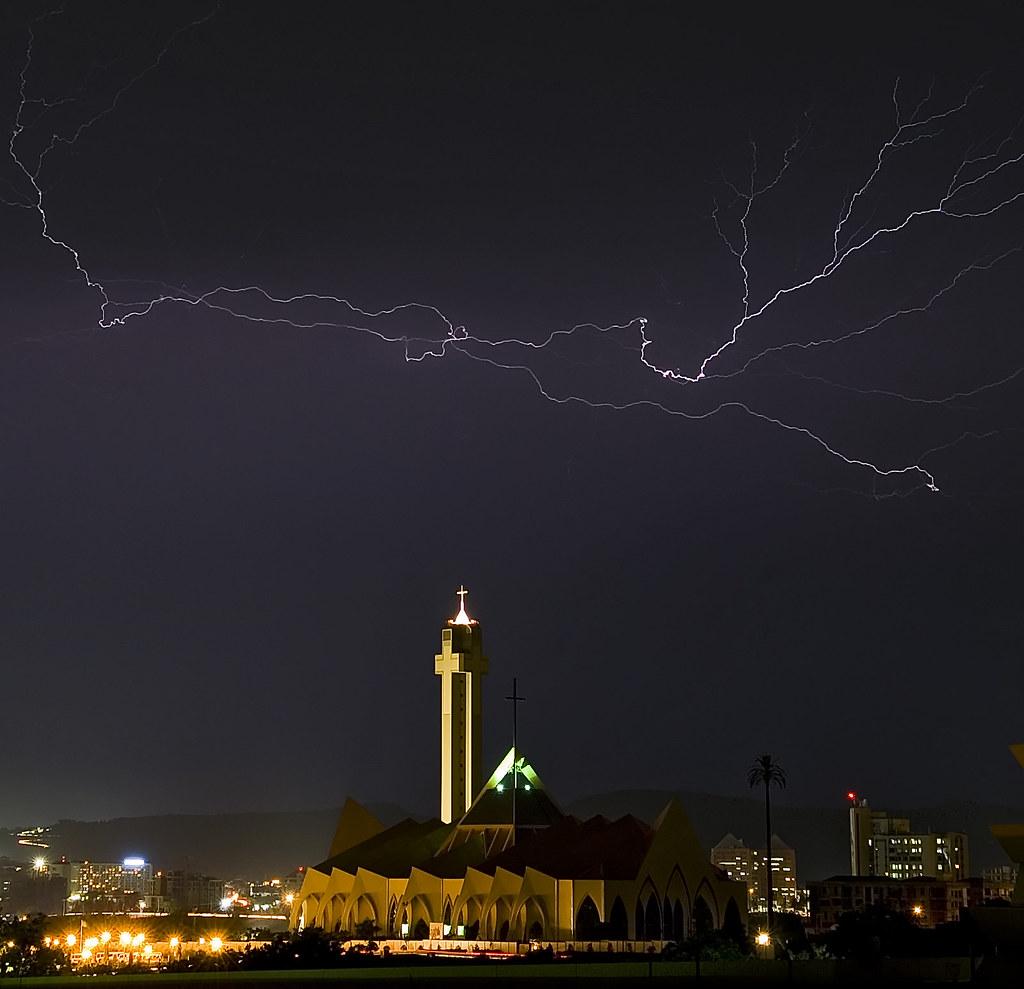 Abuja Skyline: Day And Night-time