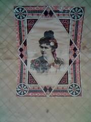 Printed lady