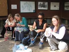 Plastic Bag Knitters