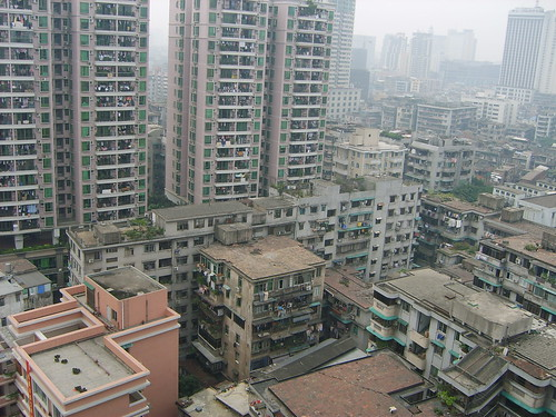 View of Guangzhou from the Hotel