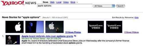 Yahoo News Video & Image News Results