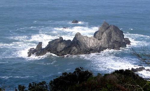 Coastal monument