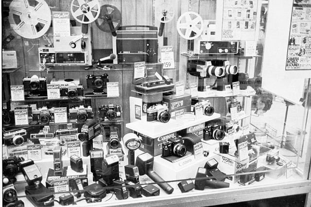 1977 NYC Camera Store Window 1