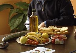 muestra alimentos ecologicos