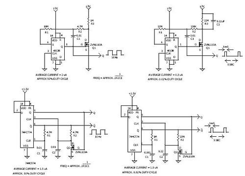 D - FLIP/FLOP Oscillators