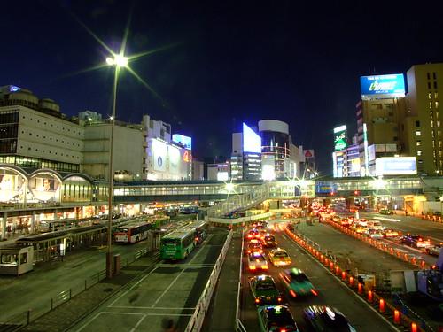 Foto y vídeo desde la salida este de Shibuya class=