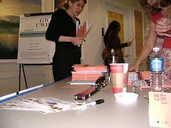 nformation table, 2007 University Writing and Research Symposium