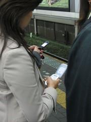 Mobile Phones in Tokyo's Subways