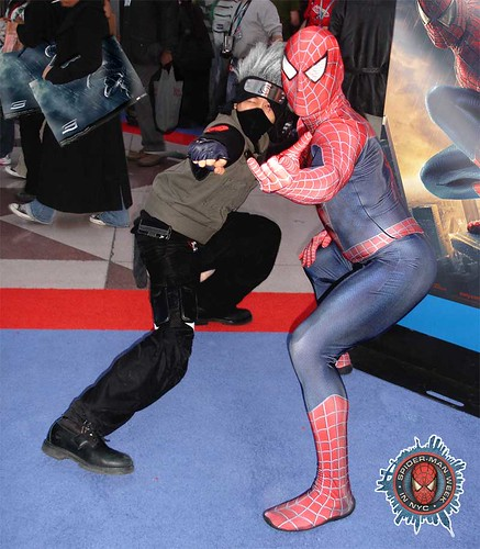 Kakashi and Spidey