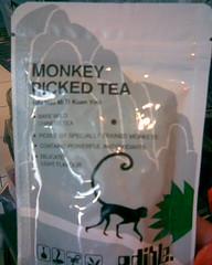 Tea picked by monkeys