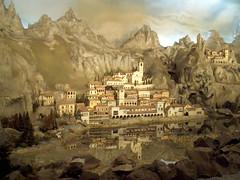Detail van het Diorama