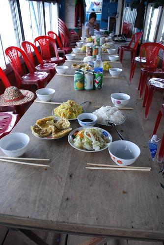 Boat trip in Hue
