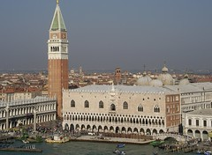 Piazza San Marco, the Campanile and Doge's Palace