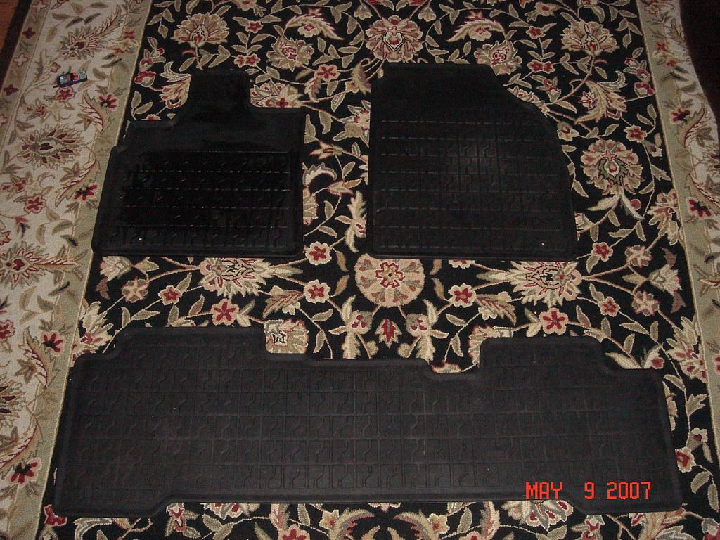 '05 Acura MDX All Weather Floor Mats
