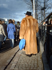 Fur coat (hugovk) Tags: hat suomi finland fur for spring helsinki coat may furcoat fox esplanade even tad finnish hvk 2007 esplanadi overdressed espa foxfur a esplanadinpuisto toulukuu eurovisionweek imag2669 lastfm:event=414134