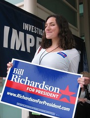 Richardson campaign wins hotness contest in CA