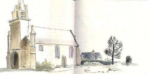 Ste Barbe: la chapelle