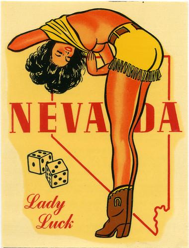 Decal:  Nevada Girl
