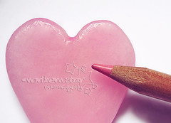 paint your heart. (*northern star) Tags: pink love pencil canon paint candle heart d rosa explore wax concept conceptual cuore candela cera dipingere onexplore northernstar pastello explored donotsteal allrightsreserved northernstarandthewhiterabbit northernstar tititu theworldinpink usewithoutpermissionisillegal northernstarphotography ifyouwannatakeitforpersonalusesnotcommercialusesjustask