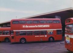 993) 567LKP Exeter 11-5-80 (Richie B.) Tags: metro district national western maidstone leyland cammell atlantean 567lkp