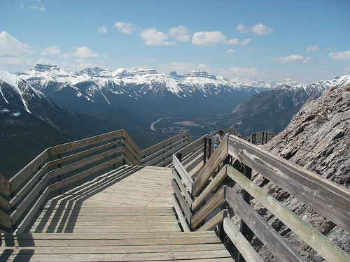 Boardwalk, Sulphur Mountain