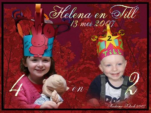 Helena & Till's birthday! 13mei2007