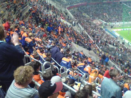 JFler in der LTU Arena