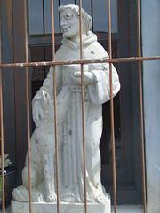 St Francis of Assisi (JamiDami) Tags: park wild saint animal animals francis natura terra assisi chang benidorm damina