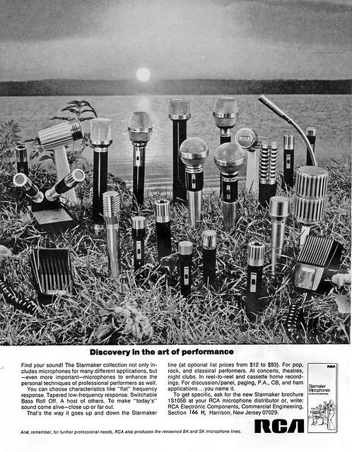 RCA mics 1970