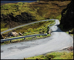 Bealach (tanera) Tags: road skye track shadows barriers twisted serpentine trotternish crashbarriers wwwtaneracouk httptaneracouk