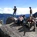 At the top of Wayne Picchu