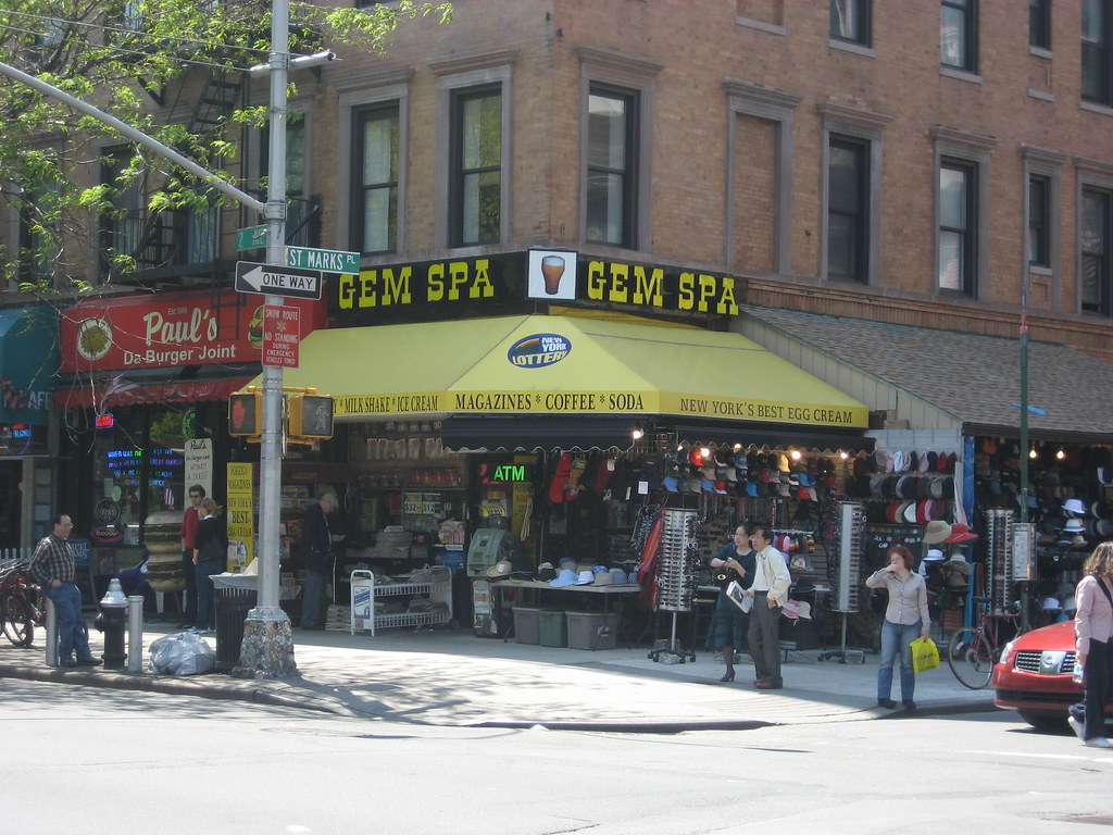 NYC - East Village: Gem Spa