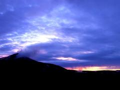 Twilight (viv_hadlow) Tags: iceland myvatn