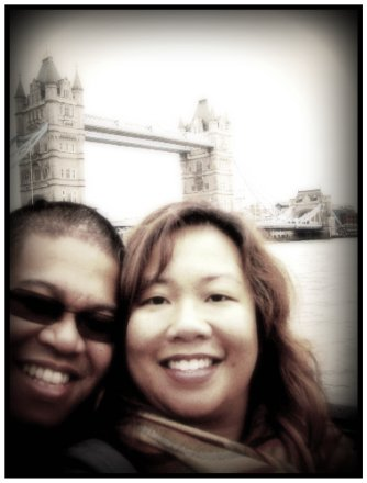 Us and Tower Bridge - The Myspace Photo