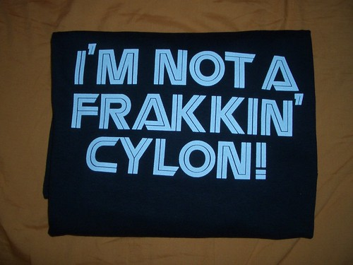 I'm Not a Frakkin' Cylon!