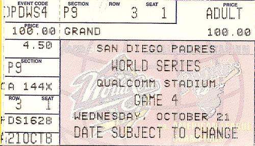 1998 World Series - Game 4