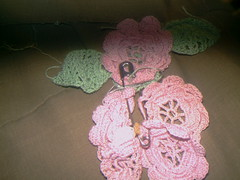 Crochet flowers (Yakima_gulag) Tags: pretty things