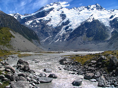The beauty of New Zealand..... (Danil) Tags: travel newzealand sky mountain lake snow ice water beautiful landscape amazing rocks view freezing glacier southisland glacial nieuwzeeland naturesfinest impressedbeauty aplusphoto unature superhearts unaturefav