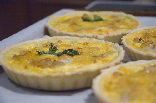 savoury tarts for brunch